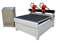 Double Head Advertising CNC Router